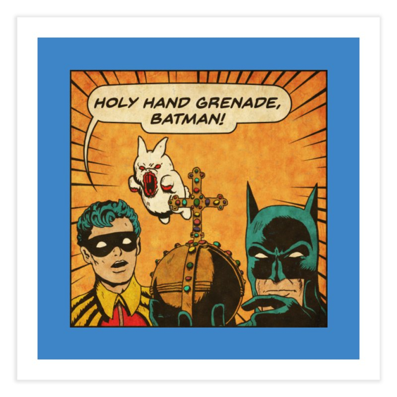 Gotham Grenade Home Fine Art Print by Made With Awesome