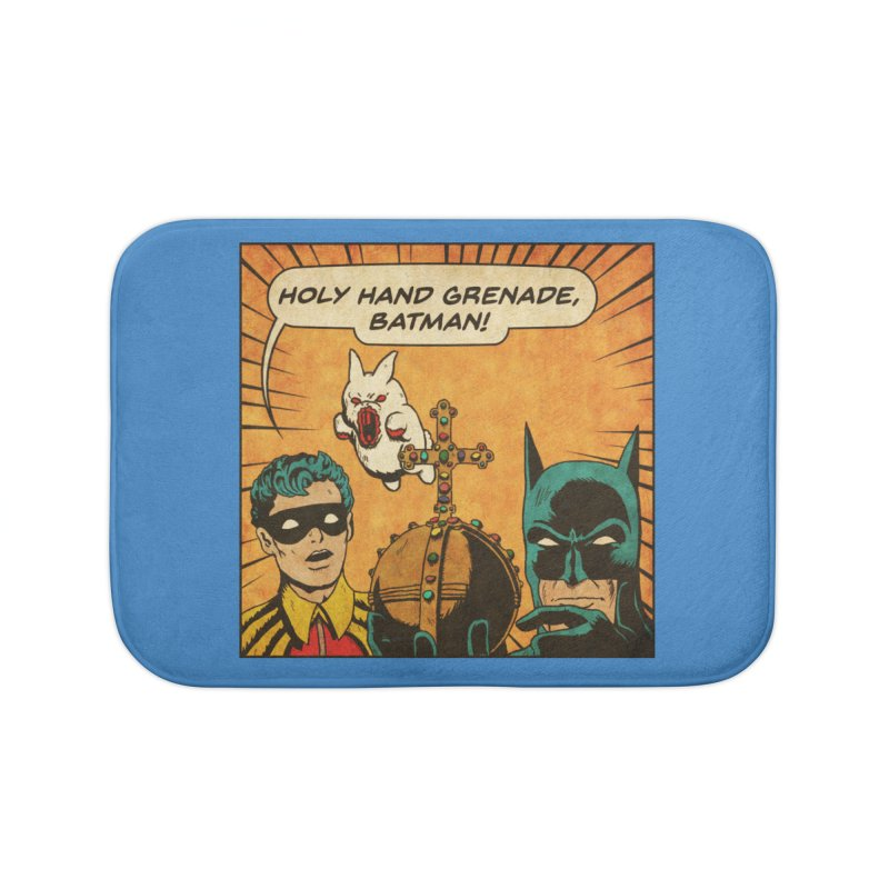 Gotham Grenade Home Bath Mat by Made With Awesome