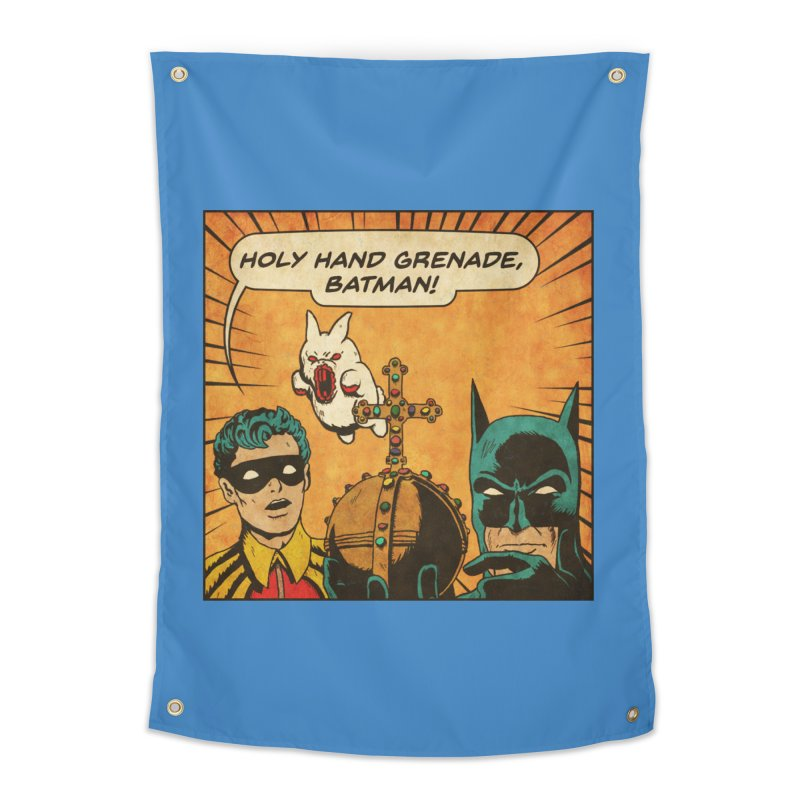 Gotham Grenade Home Tapestry by Made With Awesome