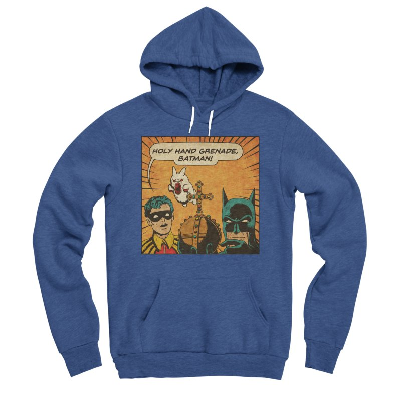 Gotham Grenade Men's Sponge Fleece Pullover Hoody by Made With Awesome