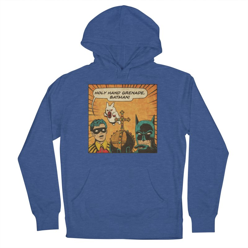 Gotham Grenade Men's French Terry Pullover Hoody by Made With Awesome