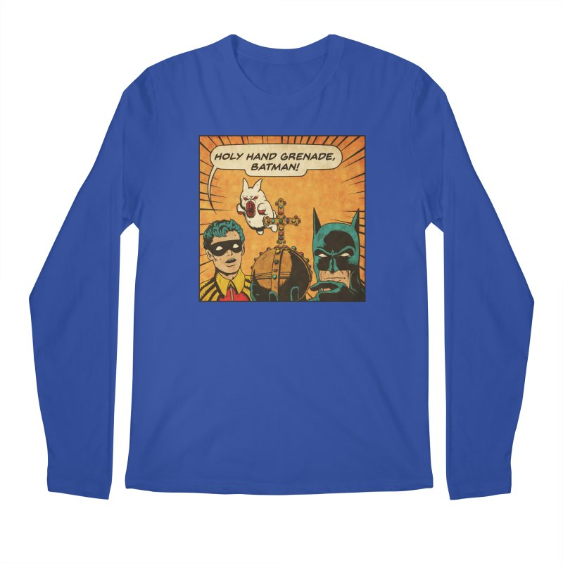 Gotham Grenade Men's Regular Longsleeve T-Shirt by Made With Awesome