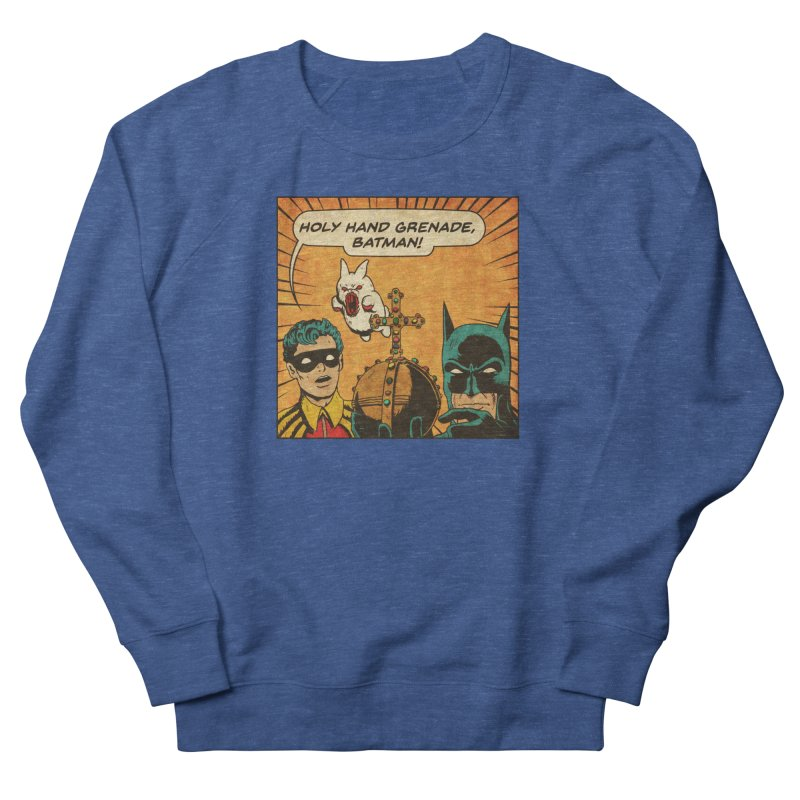 Gotham Grenade Men's French Terry Sweatshirt by Made With Awesome