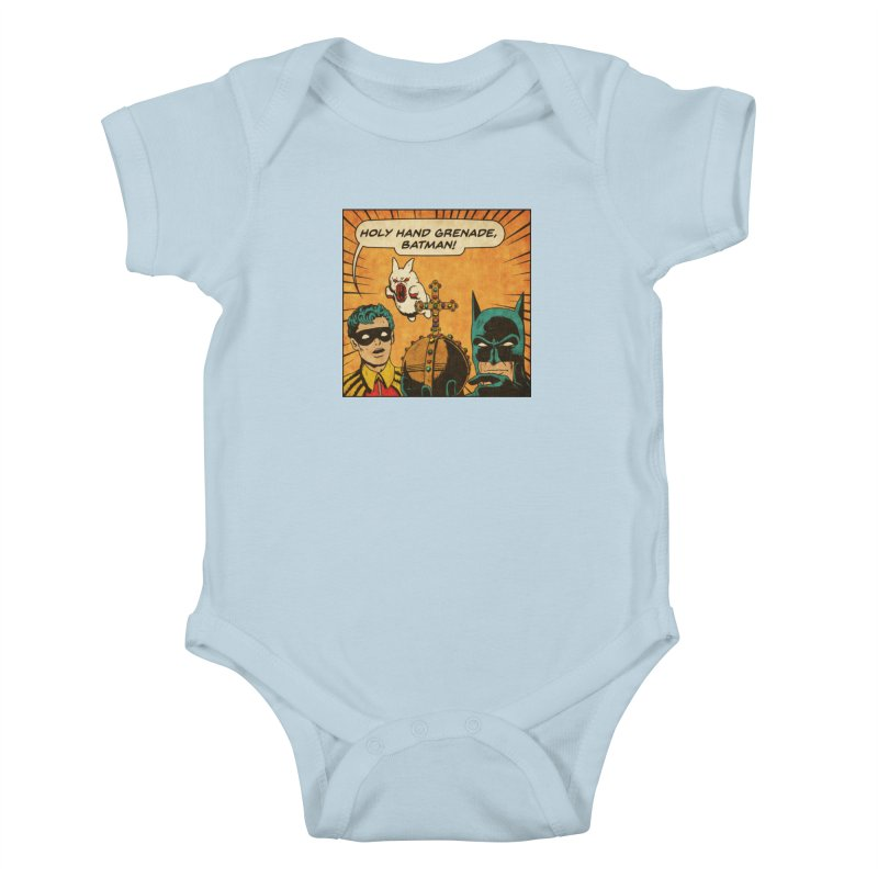 Gotham Grenade Kids Baby Bodysuit by Made With Awesome
