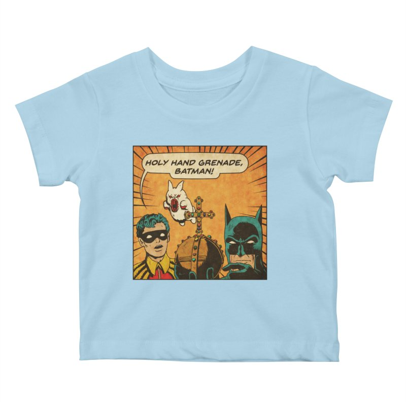 Gotham Grenade Kids Baby T-Shirt by Made With Awesome