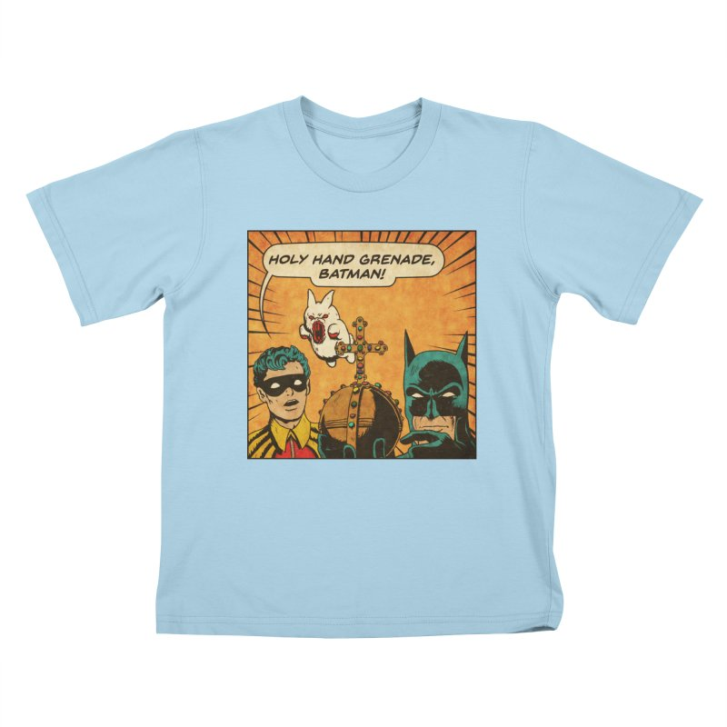 Gotham Grenade Kids Toddler T-Shirt by Made With Awesome