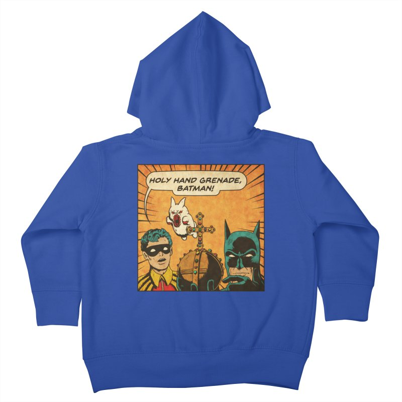Gotham Grenade Kids Toddler Zip-Up Hoody by Made With Awesome