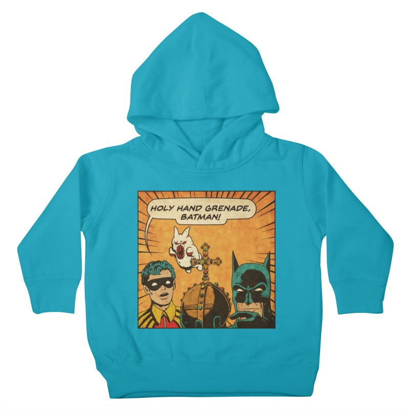 Gotham Grenade Kids Toddler Pullover Hoody by Made With Awesome