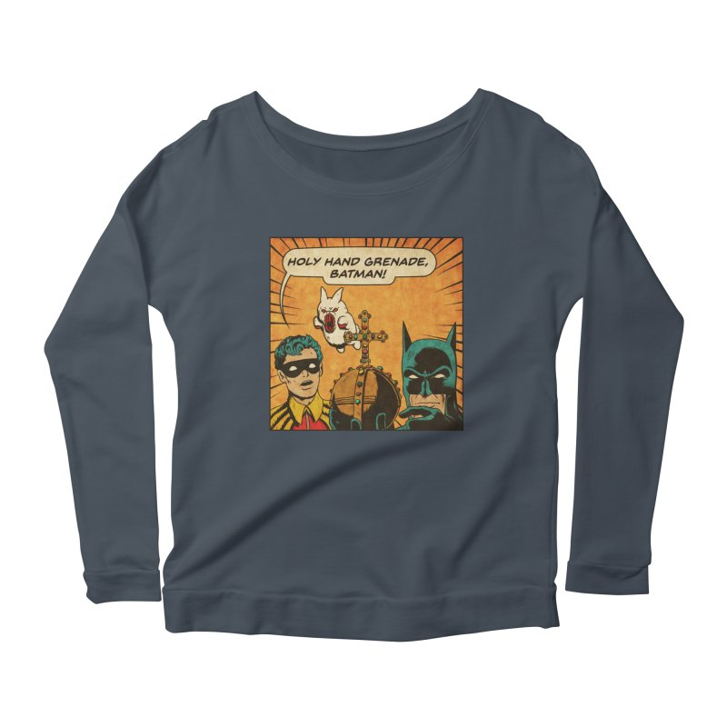 Gotham Grenade Women's Scoop Neck Longsleeve T-Shirt by Made With Awesome