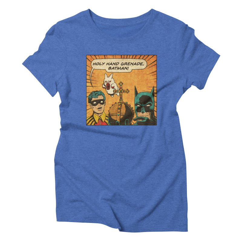 Gotham Grenade Women's Triblend T-Shirt by Made With Awesome