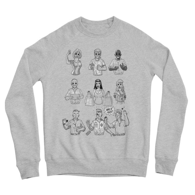 Sheeple Men's Sponge Fleece Sweatshirt by Made With Awesome