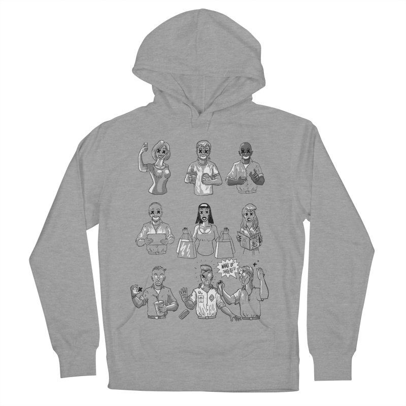Sheeple Men's French Terry Pullover Hoody by Made With Awesome