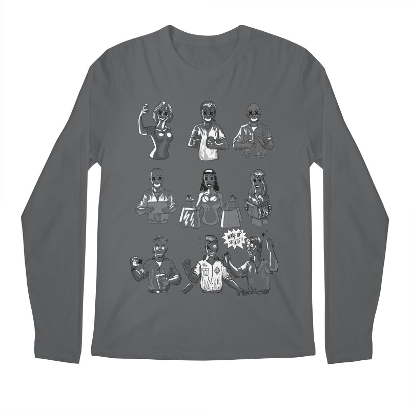 Sheeple Men's Regular Longsleeve T-Shirt by Made With Awesome