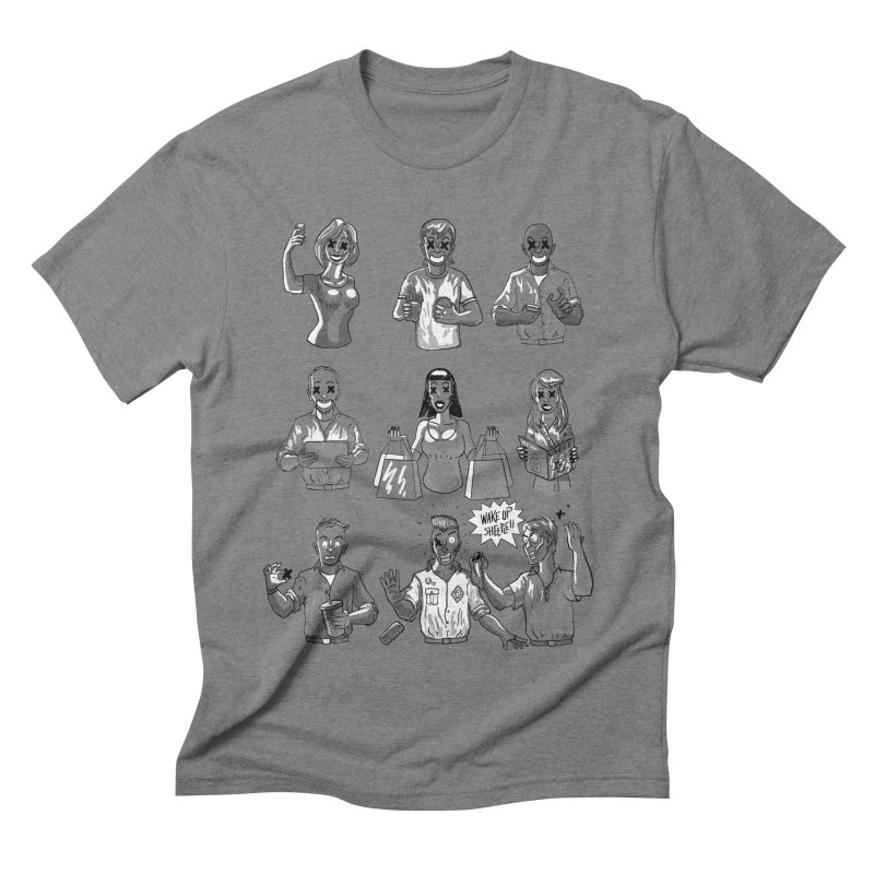 Sheeple Men's Triblend T-Shirt by Made With Awesome