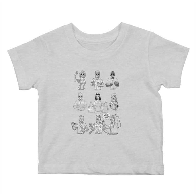 Sheeple Kids Baby T-Shirt by Made With Awesome