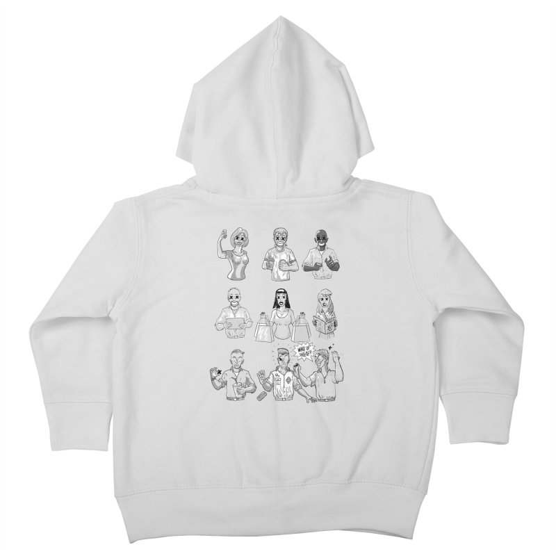 Sheeple Kids Toddler Zip-Up Hoody by Made With Awesome