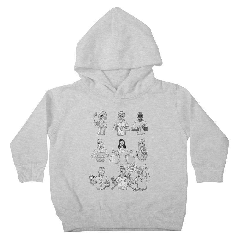 Sheeple Kids Toddler Pullover Hoody by Made With Awesome