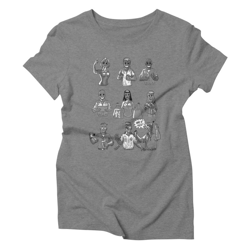 Sheeple Women's Triblend T-Shirt by Made With Awesome