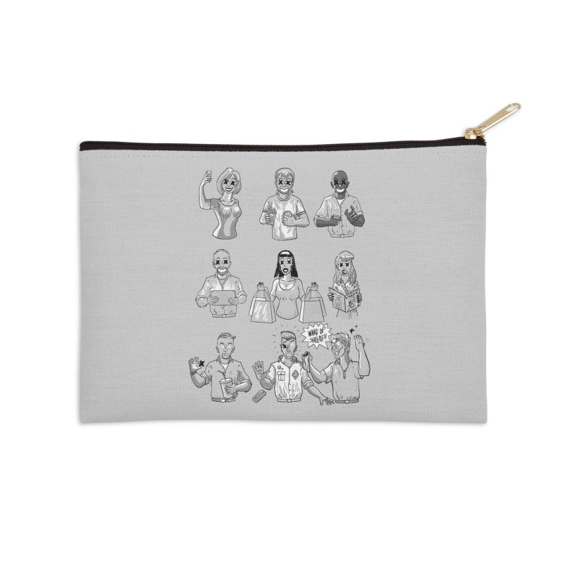 Sheeple Accessories Zip Pouch by Made With Awesome