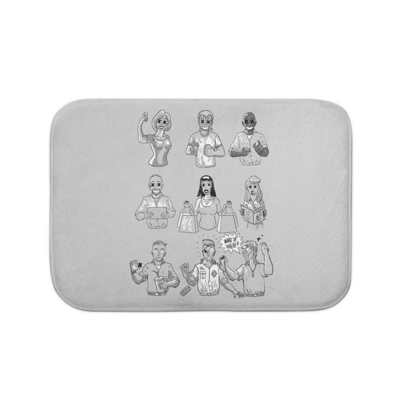 Sheeple Home Bath Mat by Made With Awesome