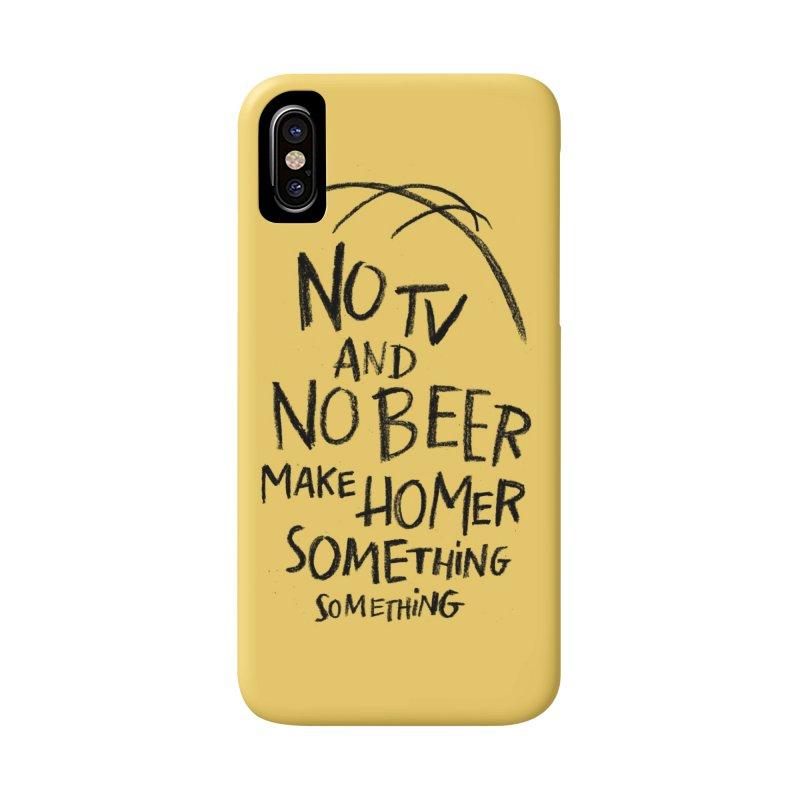 SOMETHING SOMETHING Accessories Phone Case by Made With Awesome