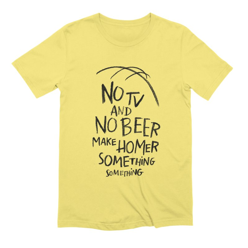 SOMETHING SOMETHING Men's Extra Soft T-Shirt by Made With Awesome