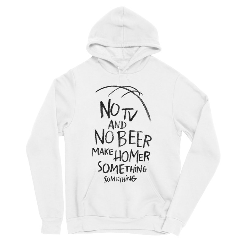 SOMETHING SOMETHING Women's Sponge Fleece Pullover Hoody by Made With Awesome
