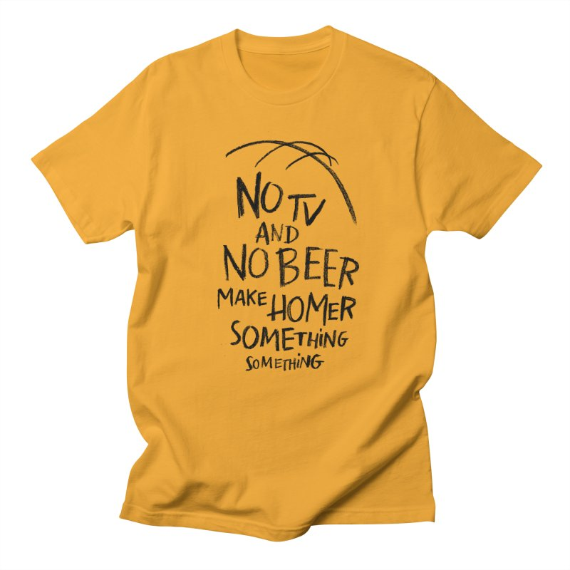 SOMETHING SOMETHING Women's Regular Unisex T-Shirt by Made With Awesome