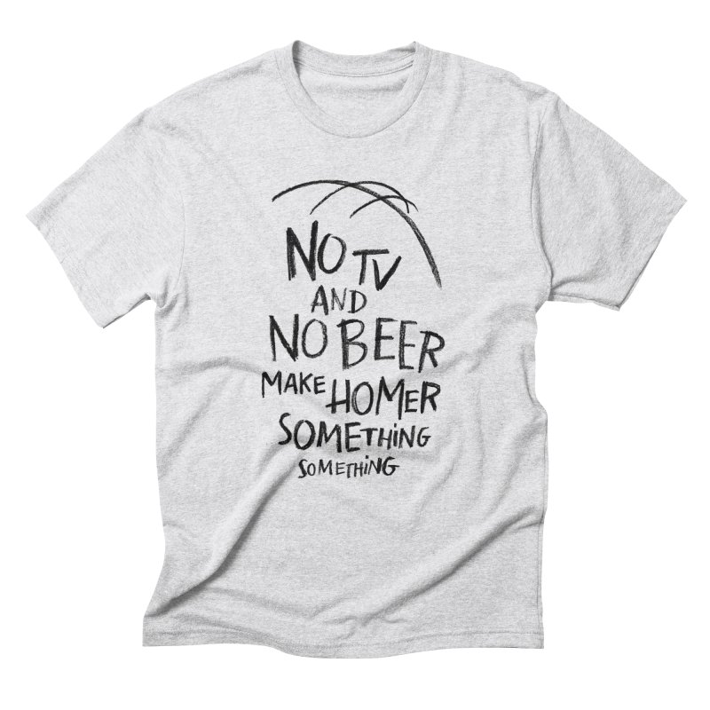 SOMETHING SOMETHING Men's Triblend T-Shirt by Made With Awesome