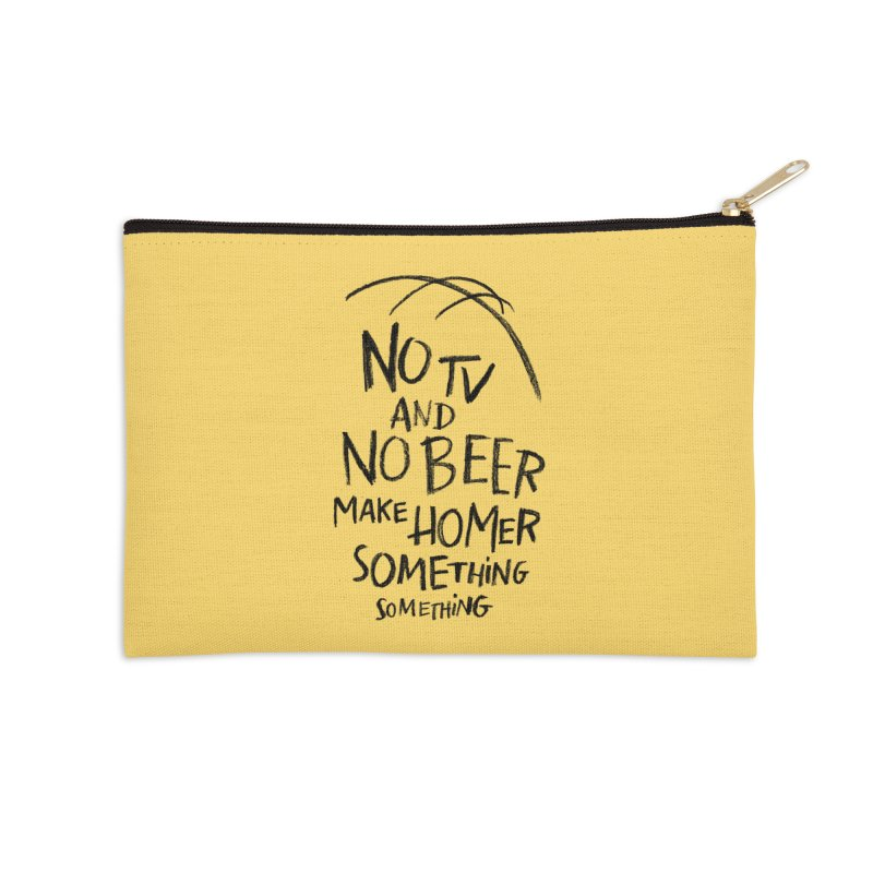 SOMETHING SOMETHING Accessories Zip Pouch by Made With Awesome