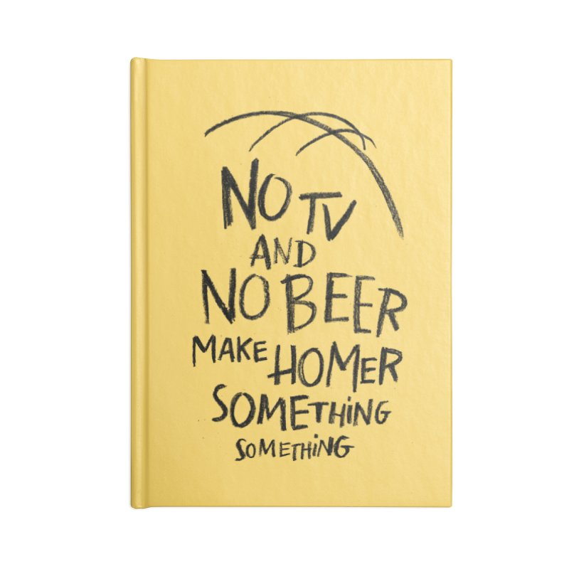 SOMETHING SOMETHING Accessories Notebook by Made With Awesome