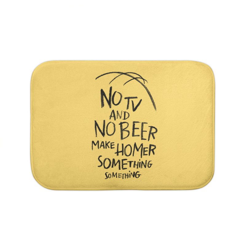 SOMETHING SOMETHING Home Bath Mat by Made With Awesome