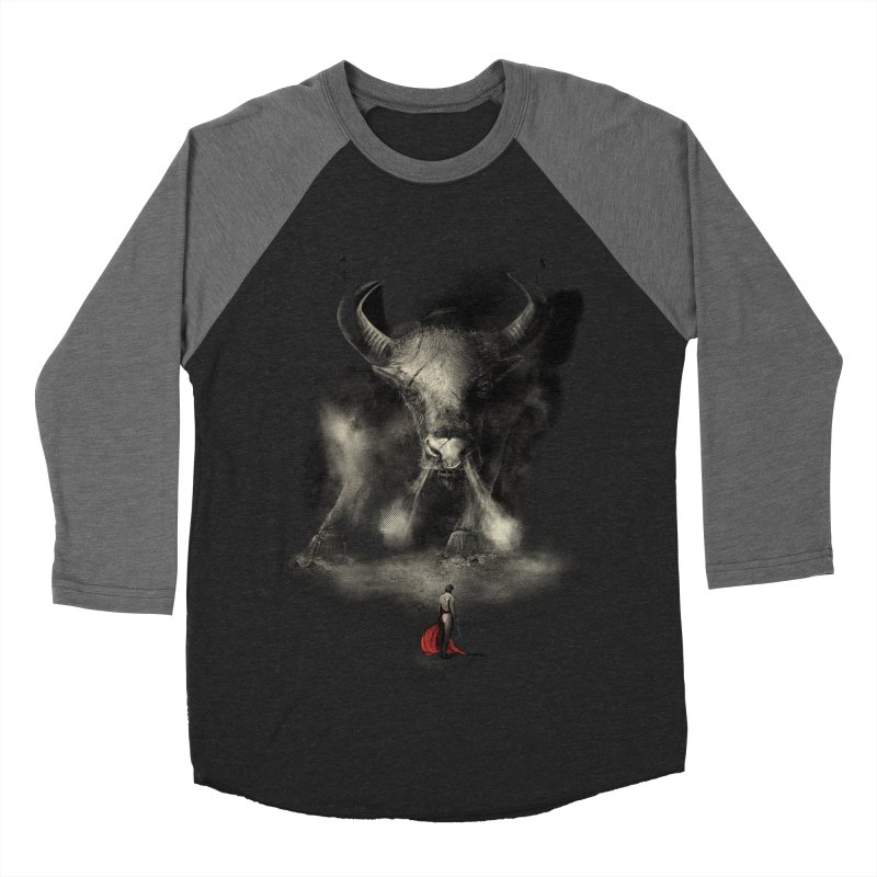 Matador's Match Men's Baseball Triblend Longsleeve T-Shirt by Made With Awesome