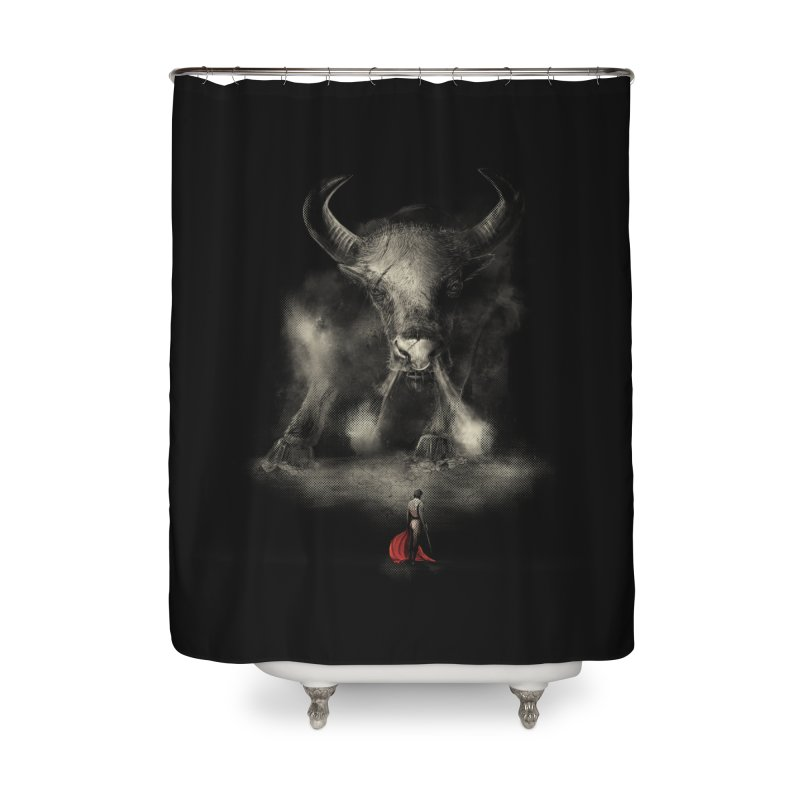 Matador's Match Home Shower Curtain by Made With Awesome