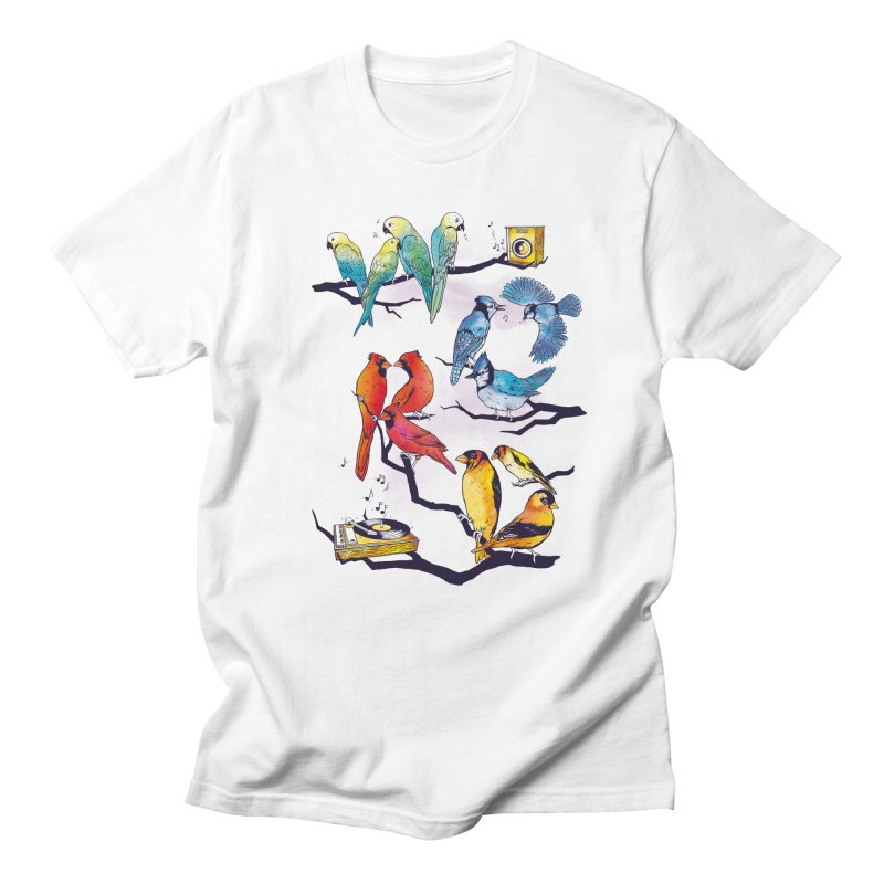 The Bird is The Word Women's Regular Unisex T-Shirt by Made With Awesome