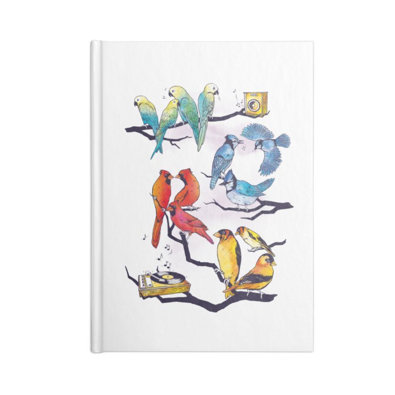 The Bird is The Word Accessories Notebook by Made With Awesome