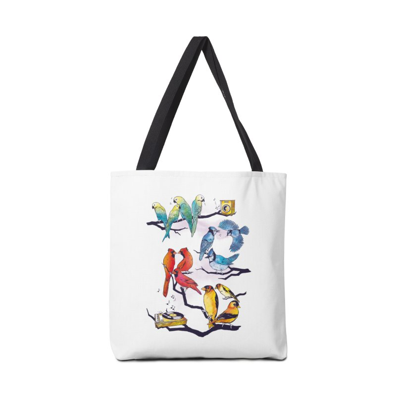 The Bird is The Word Accessories Bag by Made With Awesome