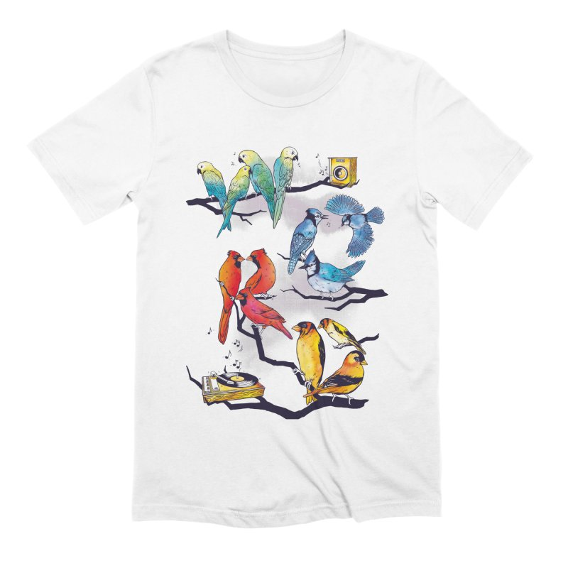 The Bird is The Word Men's Extra Soft T-Shirt by Made With Awesome