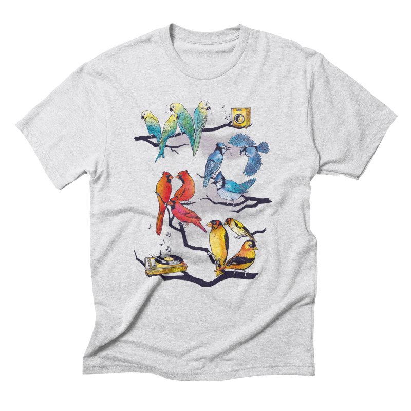 The Bird is The Word Men's Triblend T-Shirt by Made With Awesome