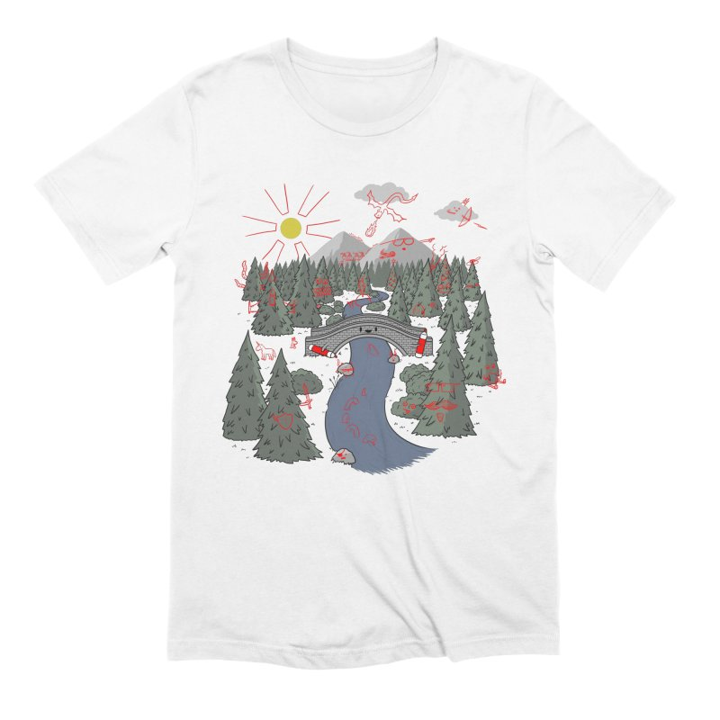 Draw Bridge Men's Extra Soft T-Shirt by Made With Awesome