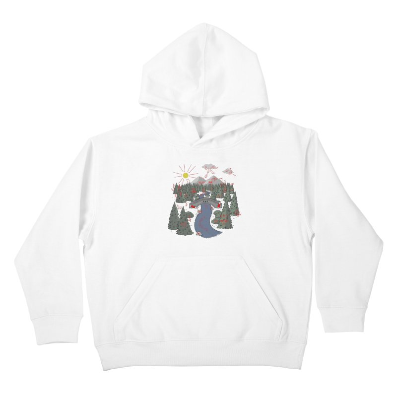 Draw Bridge Kids Pullover Hoody by Made With Awesome