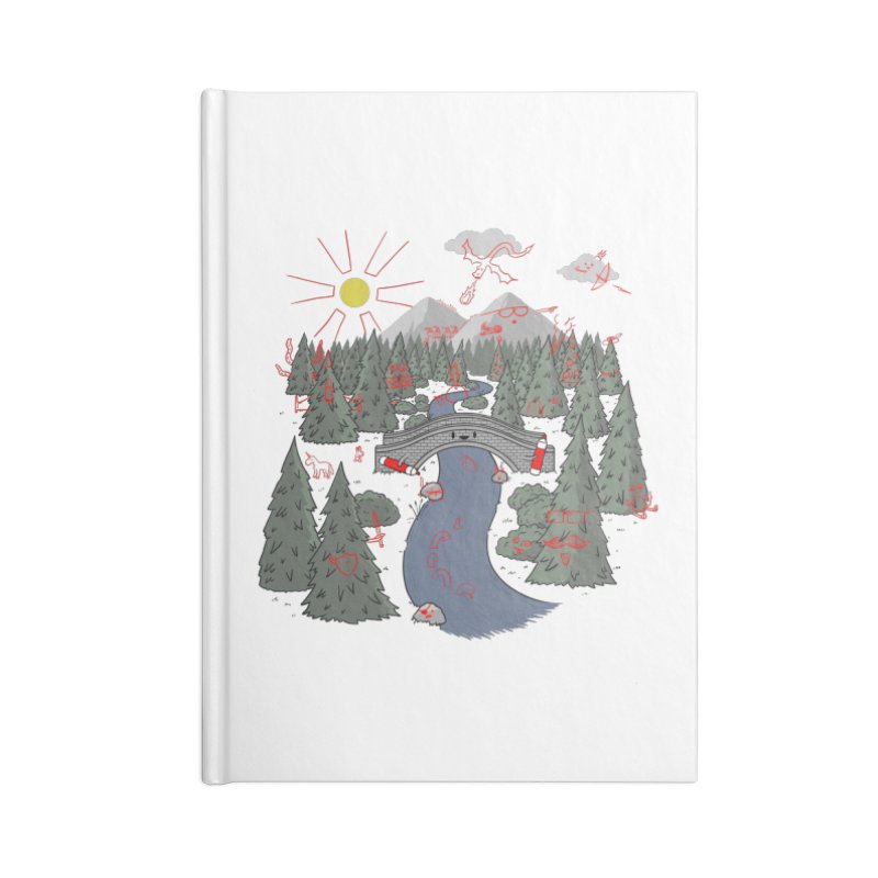 Draw Bridge Accessories Notebook by Made With Awesome