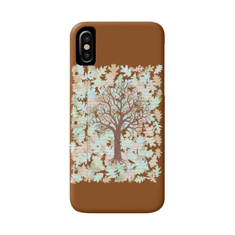 Loose Leaf Accessories Phone Case by Made With Awesome