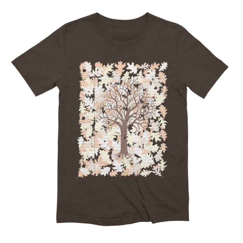 Loose Leaf Men's Extra Soft T-Shirt by Made With Awesome