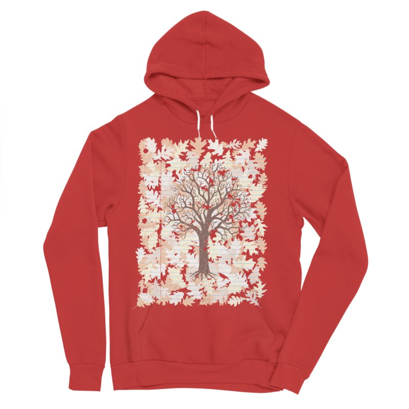 Loose Leaf Men's Sponge Fleece Pullover Hoody by Made With Awesome
