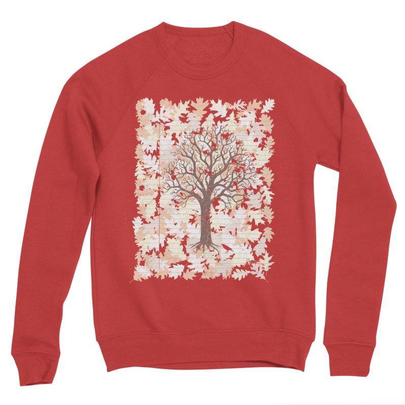 Loose Leaf Men's Sponge Fleece Sweatshirt by Made With Awesome