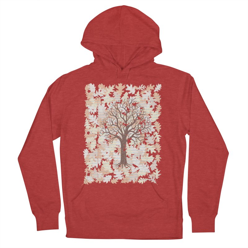 Loose Leaf Men's French Terry Pullover Hoody by Made With Awesome