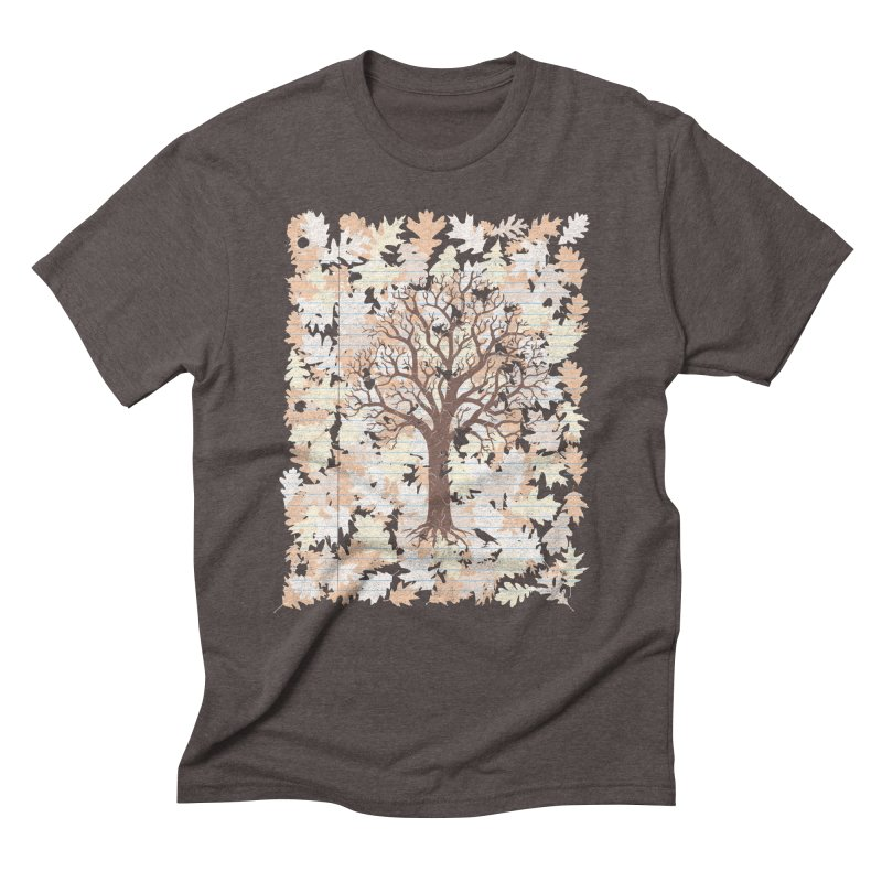 Loose Leaf Men's Triblend T-Shirt by Made With Awesome