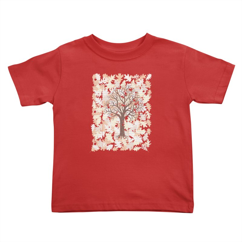 Loose Leaf Kids Toddler T-Shirt by Made With Awesome