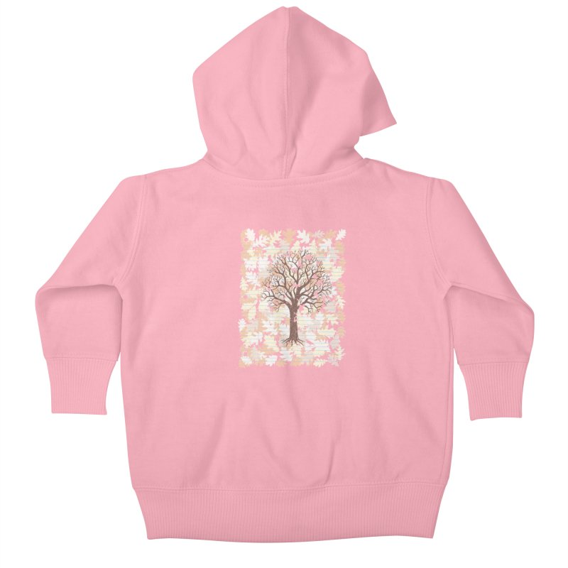 Loose Leaf Kids Baby Zip-Up Hoody by Made With Awesome